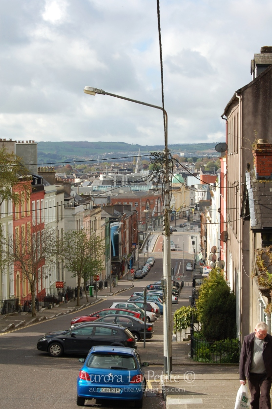 View over Patrick Street Cork
