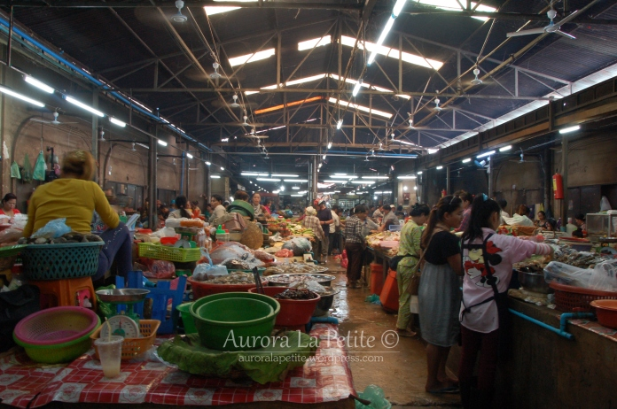 Asian Wet Market, Siem Reap
