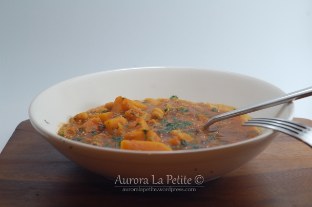 North African Squash Stew from River Cottage Veg Everyday