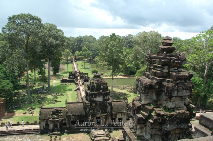 View of Angkor Thom, Siem Reap, Cambodia