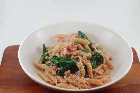 Pancetta, Spinach & Onion Pasta
