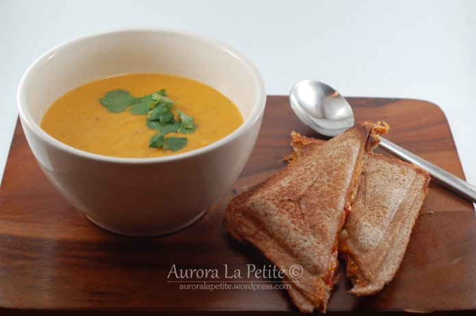 Sweet Potato, Carrot and Coconut Soup